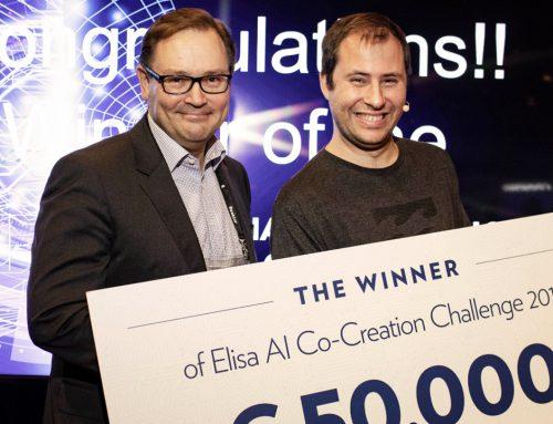 Lifemote won Elisa's AI competition and 50,000 euros