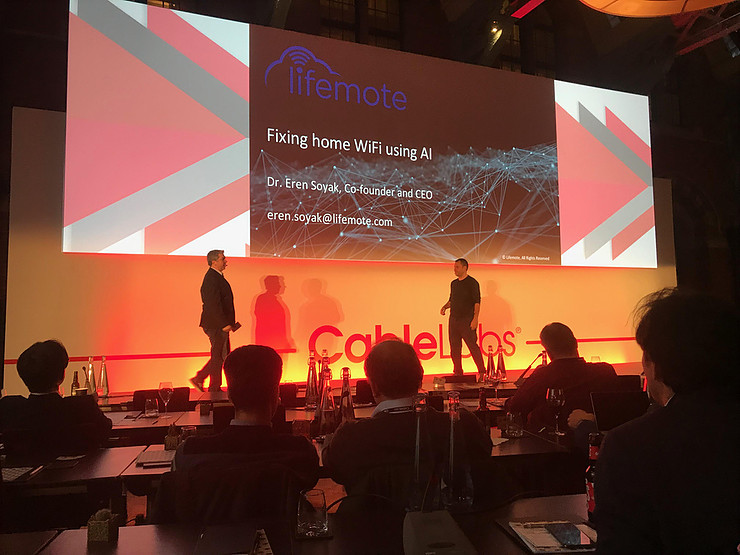 Innovation Showcase at the CableLabs® Europe Conference