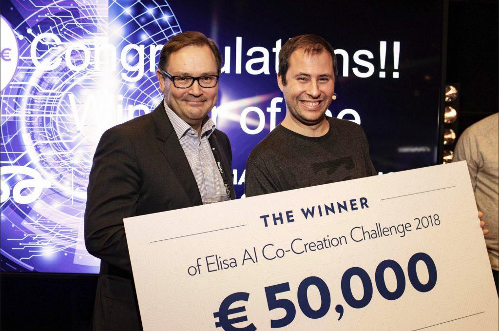 The winner of Elisa AI Co-Creation Challenge 2018